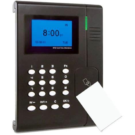 Terminal para captar datos de acceso empleados en tu empresa
